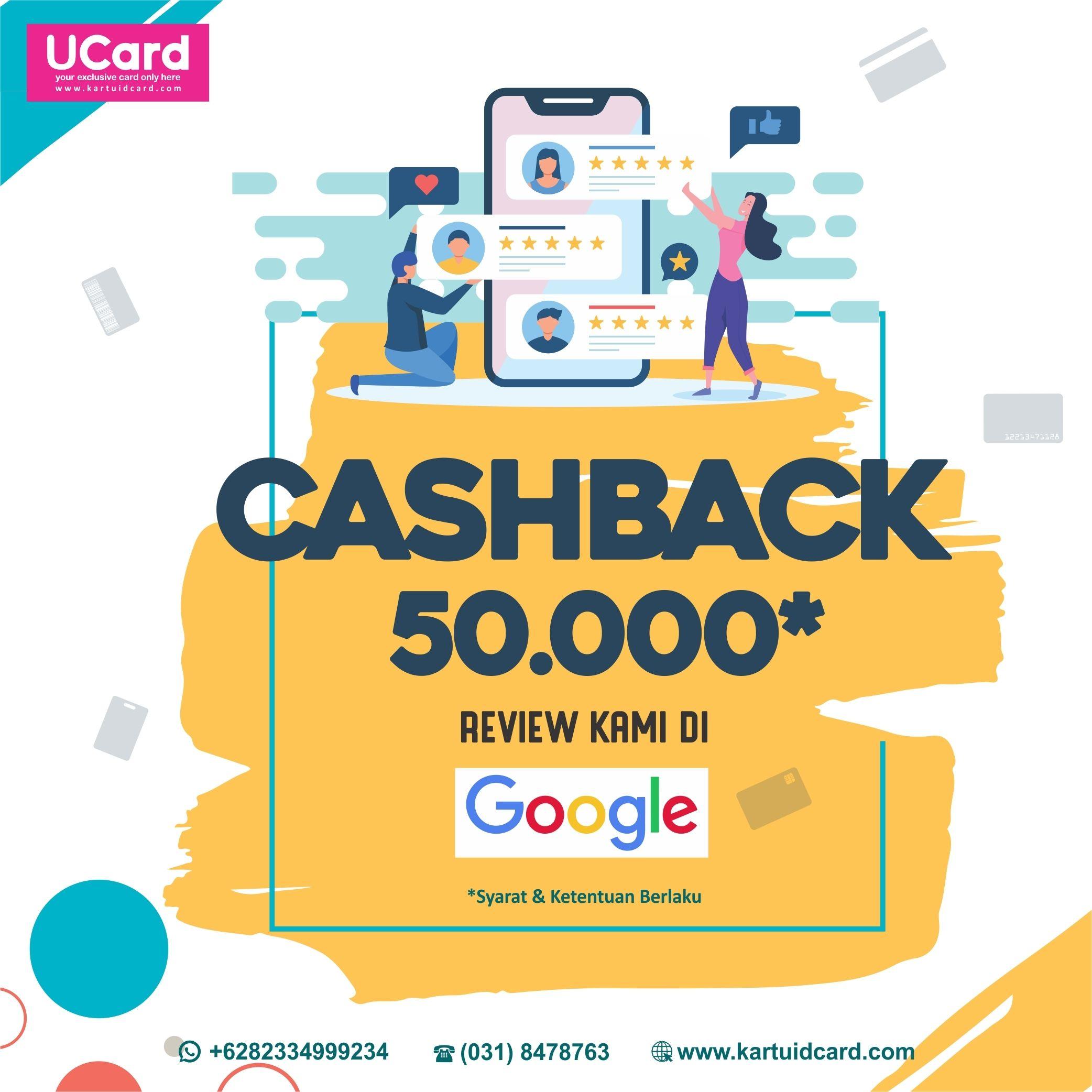 Cash Back IDR 50.000
